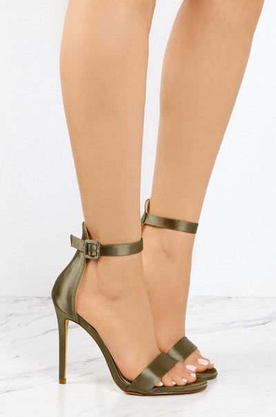 Perfect Ten - Olive Satin