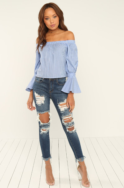 Picture Perfect Top - Striped