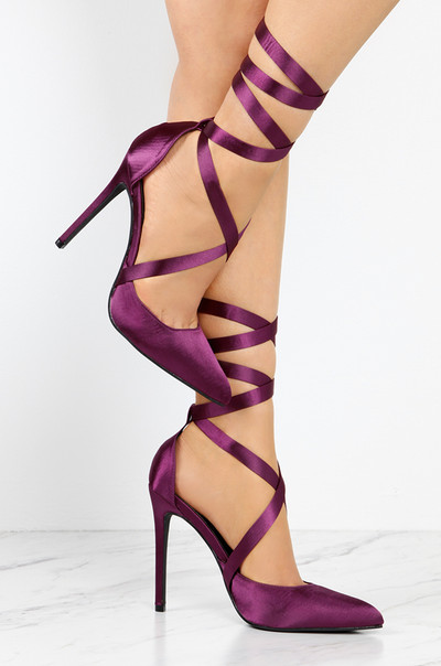 Haute Arrival - Purple Satin