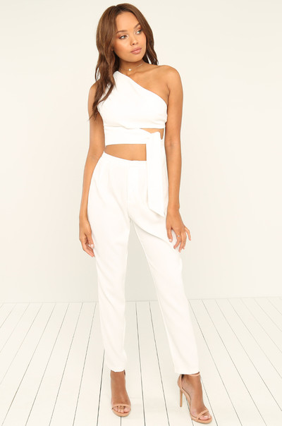 Perfect Match Co-ord Set - White