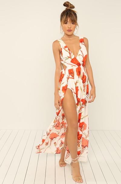 Dream Come True Dress - Floral