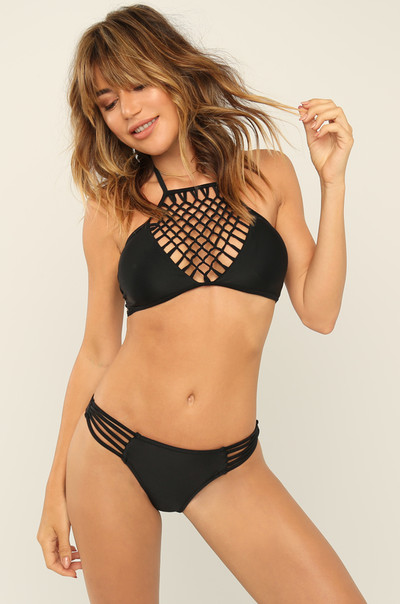 Pool Side Bikini Set - Black