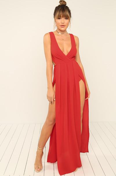 Dream Come True Dress - Red