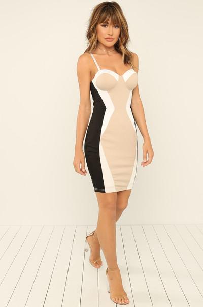 RSVP Ready Dress - Nude