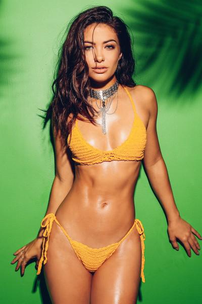 Island Sun Bikini Set - Mustard