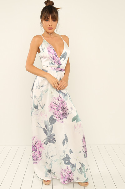 Just A Crush Dress - Floral