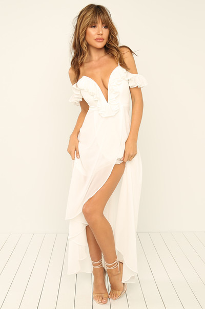 Move With Me Dress - White