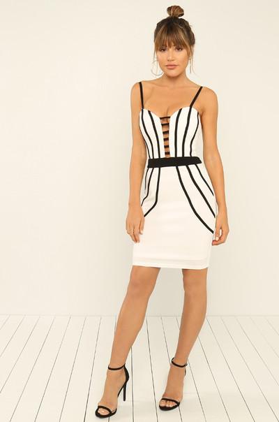 Hot Secret Dress - White