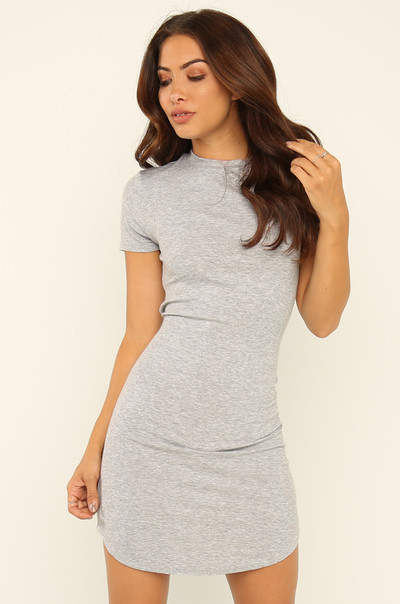 Back To You Dress - Grey