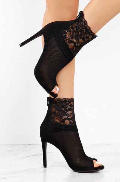Lace Talk - Black