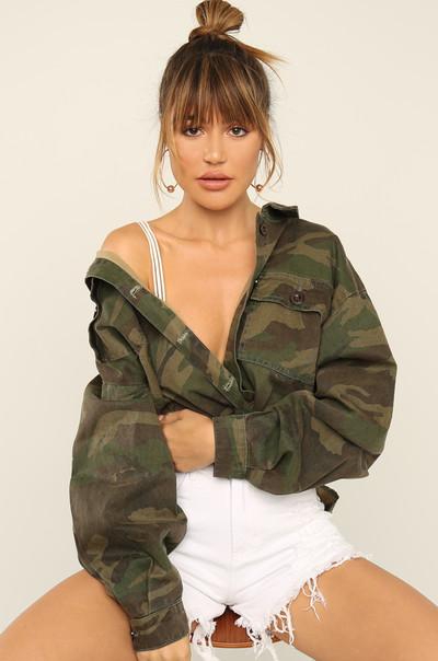 Hot Action Jacket - Camouflage
