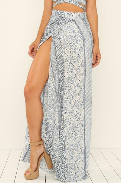 Bayside Skirt - Blue
