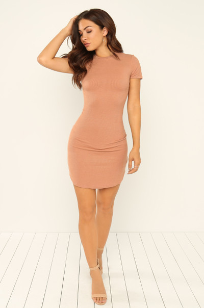 Back To You Dress - Nude