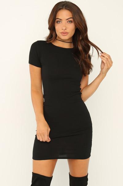 Basic Needs Dress - Black