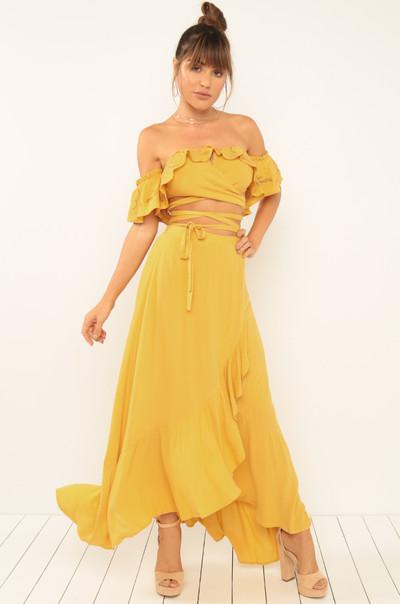 Summer Lovin' Co-Ord Set - Yellow