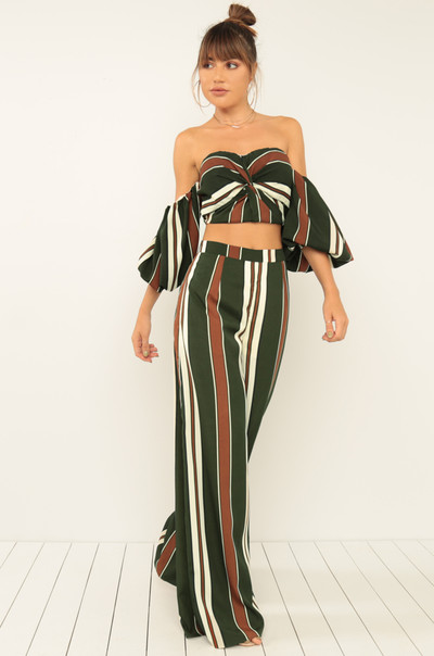 Perfectly Matched Co-Ord Set – Olive