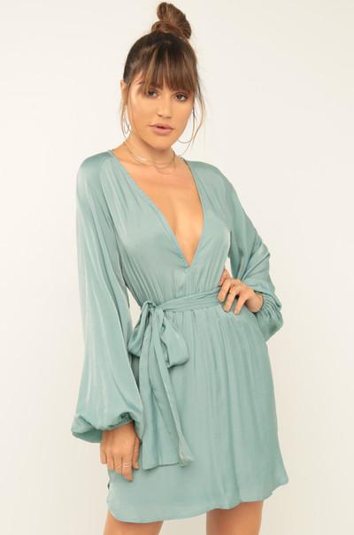 Summer Rescue Dress - Dust Blue