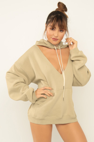 Passion Player Hoodie - Nude