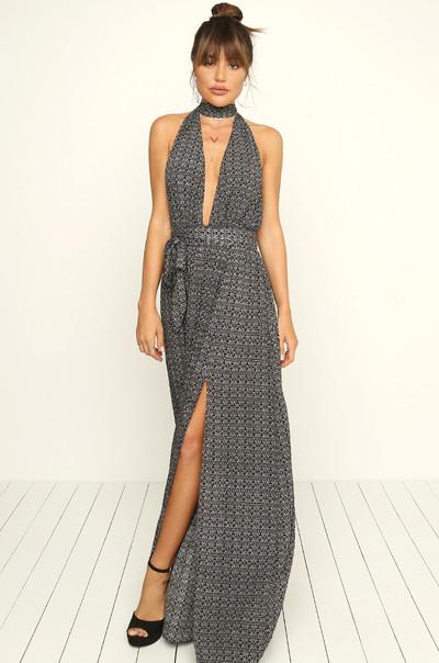 Hit The Spot Dress - Black