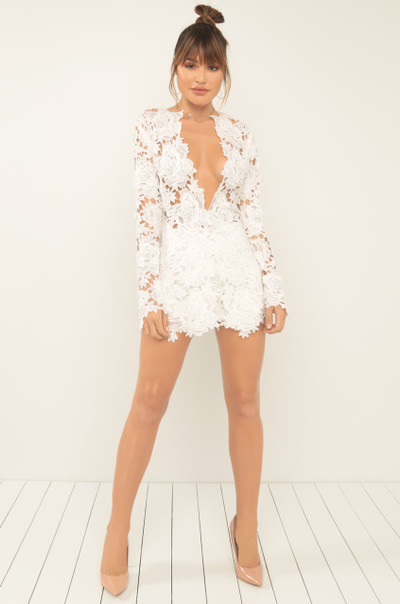 Take A Risk Co-Ord Set - White