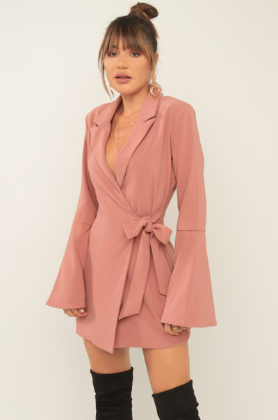 Chanel-Esque Dress - Mauve