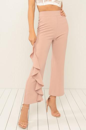 Flamenco Trousers - Blush