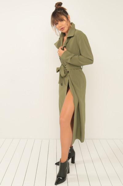 Azure Coat - Olive