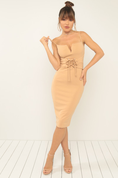 Dream On Dress - Nude