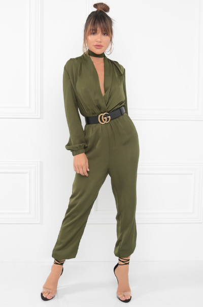 Jump In My Jumpsuit - Olive