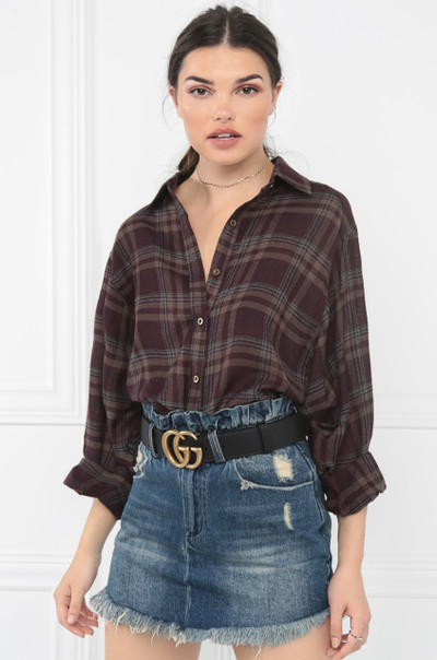 Living For Fall Top - Purple