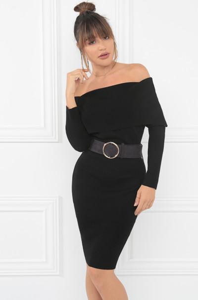 Rumors Dress - Black