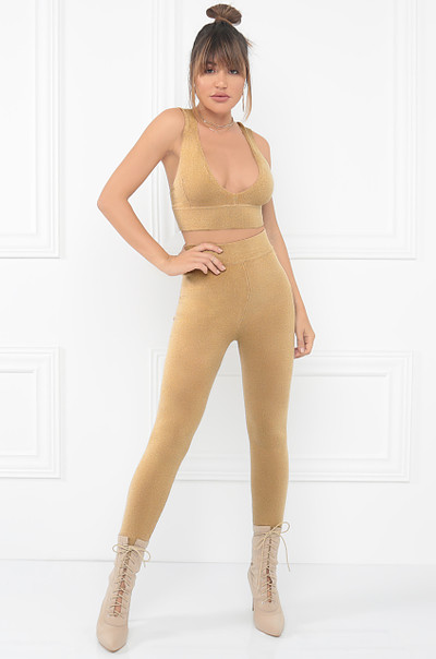 Sculpt Me Co-Ord Set - Nude