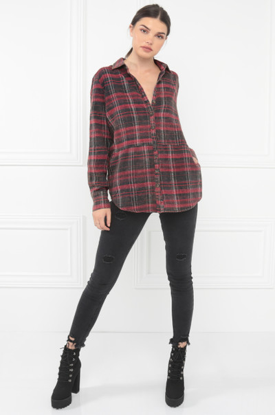 For All Seasons Top - Red