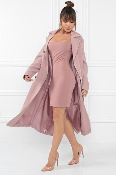 Azure Coat - Mauve