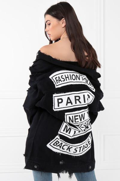 Fashion Tour Jacket - Black Denim