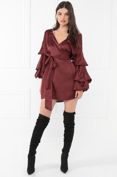 Keepsake Dress - Wine