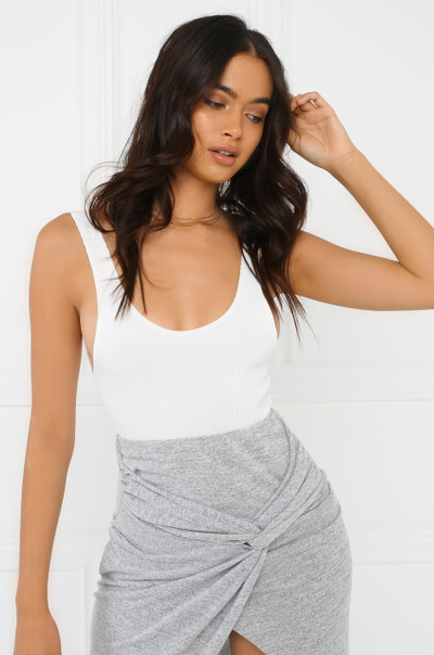 The Perfect Fit Bodysuit - White