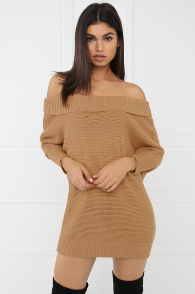 Sweet Touch Knit - Camel