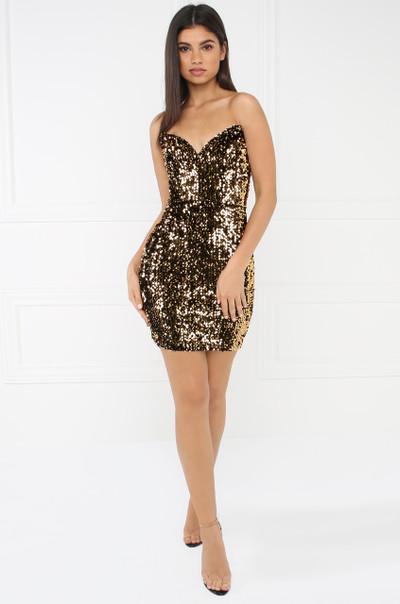 24 Karat Dress - Gold