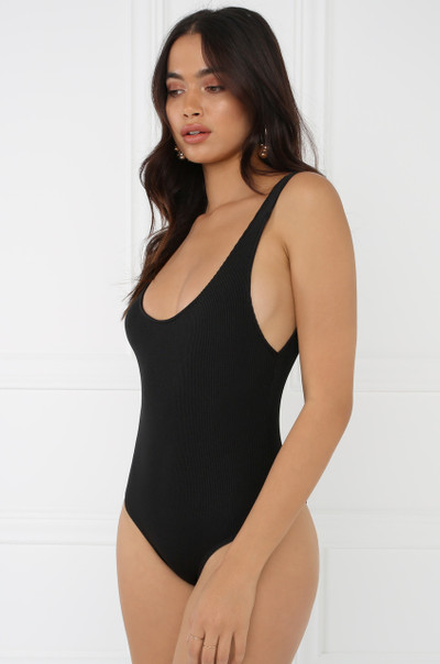 The Perfect Fit Bodysuit - Black