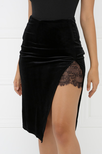 Whole Lotta Leg Skirt - Black