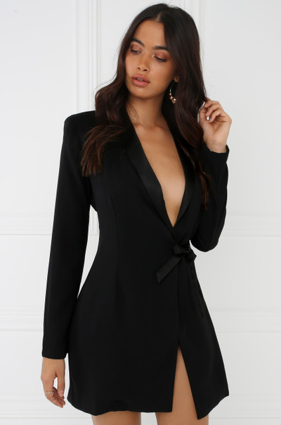 Birthday Suit Dress - Black