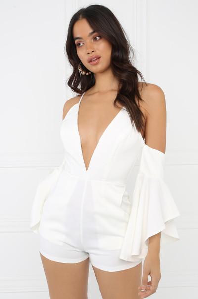 Easy Breezy Romper - White