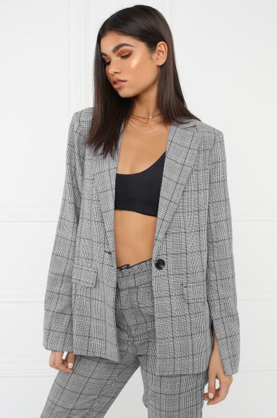 Uptown Coat - Grey