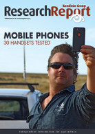 Research Report 85: Mobile phones