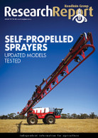 Research Report 84: Self-propelled sprayers