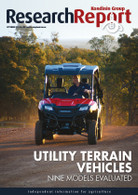 Research Report 80: Utility terrain vehicles