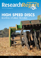 Research Report 87: High Speed Discs