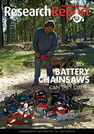 Research Report 90: Battery Chainsaws