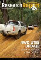 Research Reports 102: 4WD Utes Update
